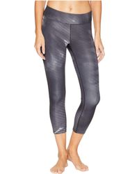 Asics - Graphic 3/4 Tights (performance Black) Women's Workout - Lyst