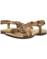Spenco - Cross Strap (tan) Women's Shoes - Lyst
