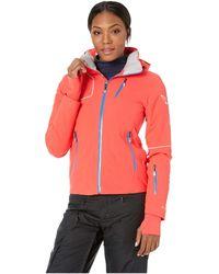 Spyder - Hera Jacket (black/hibiscus) Women's Coat - Lyst