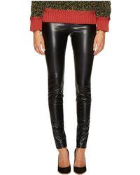 M Missoni | Faux Leather Leggings | Lyst