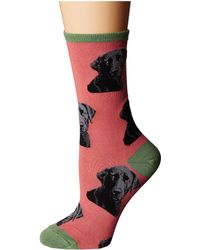 Socksmith - Lab-or Of Love (dusty Pink) Women's Crew Cut Socks Shoes - Lyst