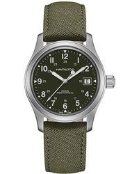 Hamilton - Khaki Field - H69419363 (green) Watches - Lyst