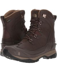 The North Face - Chilkat Evo (demitasse Brown/cub Brown) Men's Lace-up Boots - Lyst