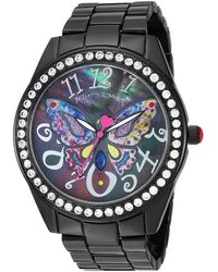 Betsey Johnson - 37bj00249-66bx Multicolor Butterfly (black) Watches - Lyst