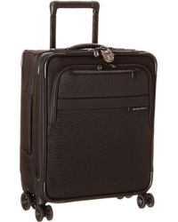 Briggs & Riley - Baseline International Carry-on Expandable Wide-body Spinner (black) Carry On Luggage - Lyst