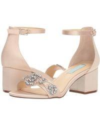 Betsey Johnson - Mel (champagne) High Heels - Lyst