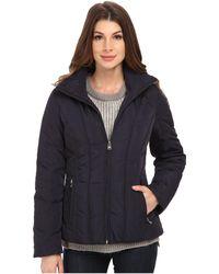 CALVIN KLEIN 205W39NYC - Short Down Coat W/ Untrimmed Hood - Lyst