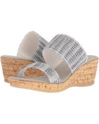Onex - Emmie (gold) Women's Sandals - Lyst