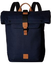 Knomo - Fulham Novello Roll Top Backpack - Lyst