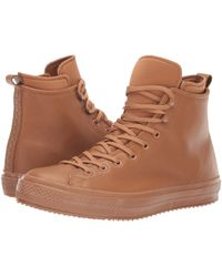 Converse - Chuck Taylor All Star Waterproof Boot - Hi (burnt Caramel/burnt Caramel) Lace Up Casual Shoes - Lyst