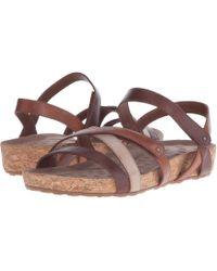 41938d1d528f Walking Cradles - Pool (brown Tonalu Multi cork Wrap) Women s Sandals - Lyst