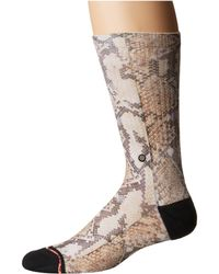 Stance - Anaconda Classic Crew (black) Women's Crew Cut Socks Shoes - Lyst