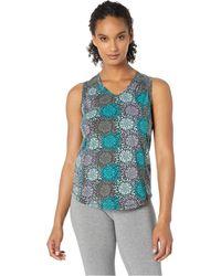 Aventura Clothing - Flora Tank Top (lake Blue) Women's Sleeveless - Lyst