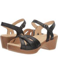 Dansko - Season (white Full Grain) Women's Shoes - Lyst