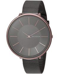 Skagen - Karolina - Skw2689 (gunmetal) Watches - Lyst