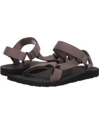d7ccaa1b8 Teva - Original Universal (boomerang Black white) Men s Sandals - Lyst