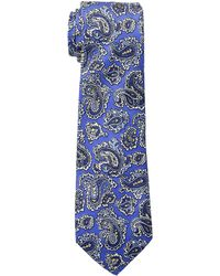 Lauren by Ralph Lauren - Small Paisley Tie (navy) Ties - Lyst