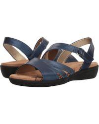 Soft Style - Pavi (black Vitello) Women's Sandals - Lyst