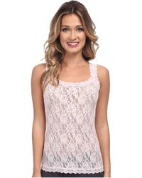 73961522a3a64 Hanky Panky - Signature Lace Unlined Cami (red) Women s Lingerie - Lyst