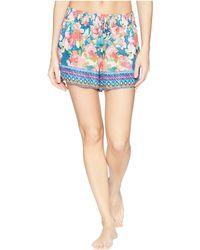 Vera Bradley - Pajama Shorts (patchwork Bouquet) Women's Pajama - Lyst