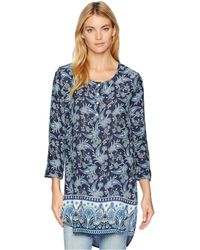 Roper - 1730 Paisley Border (blue) Women's Clothing - Lyst