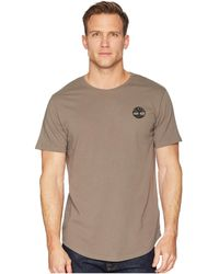 Timberland - Short Sleeve Back Graphic Tee (medium Grey Heather) Men's T Shirt - Lyst
