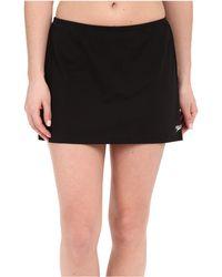 Speedo - Skirtini W/ Compression Short (black) Women's Swimwear - Lyst