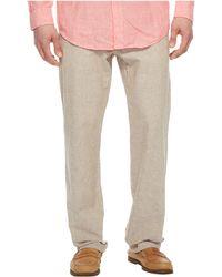 Perry Ellis - Linen Cotton Drawstring Pants (bay Blue) Men's Clothing - Lyst