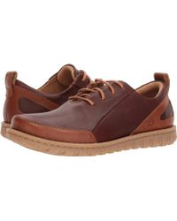 Born - Piper (light Brown/rust Combo) Men's Lace Up Casual Shoes - Lyst