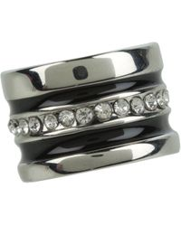 Guess - 89114891 (gunmetal/silver) Ring - Lyst