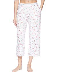 Life Is Good. - Cropped Sleep Pants (cloud White) Women's Pajama - Lyst