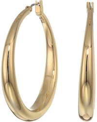 Lauren by Ralph Lauren - Graduated Hoop Earrings (gold) Earring - Lyst
