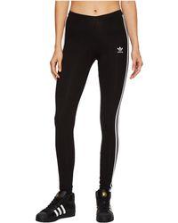 adidas Originals - 3 Stripes Tights (black) Women's Workout - Lyst