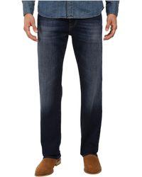 Mavi Jeans - Zach Classic Straight In Dark Brushed Williamsburg (dark Brushed Williamsburg) Men's Jeans - Lyst