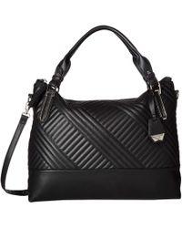 Jessica Simpson - Ryanne Quilt Tote (black) Tote Handbags - Lyst