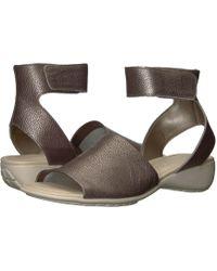 The Flexx - Beglad (black Vacchetta) Women's Sandals - Lyst