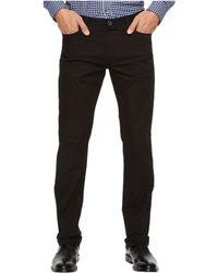 Calvin Klein - Slim Fit 4-pocket Stretch Sateen Pant (black) Men's Clothing - Lyst