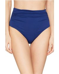 031a61bc7891c Lauren by Ralph Lauren - Beach Club Solids High-waist Bottom (indigo)  Women s
