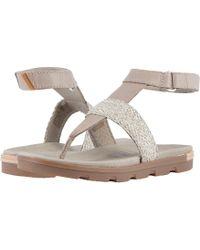 Sorel - Torpeda Ankle Strap (black) Women's Shoes - Lyst