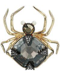 Swarovski - Magnetic Brooch (dark Multi) Brooches Pins - Lyst