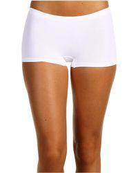 Hanro - Touch Feeling Low-rise Boyleg 1696 (white) Women's Underwear - Lyst