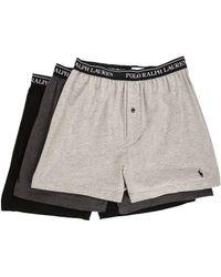 Polo Ralph Lauren   3-pack Knit Boxer   Lyst