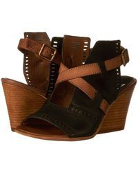 Miz Mooz - Kipling (black) Women's Wedge Shoes - Lyst