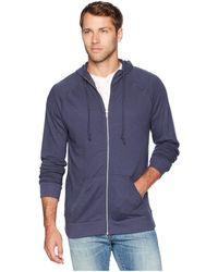Alternative Apparel - Weekender Zip Hoodie (smoke Grey) Men's Sweatshirt - Lyst