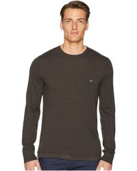 Todd Snyder - Long Sleeve Cashmere T-shirt Sweater (tobacco) Men's T Shirt - Lyst
