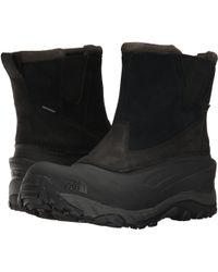 The North Face - Chilkat Iii Pull-on (tnf Black/beluga Grey) Men's Boots - Lyst