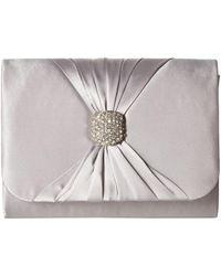 Jessica Mcclintock - Katie Clutch (silver) Clutch Handbags - Lyst d08e676793a01