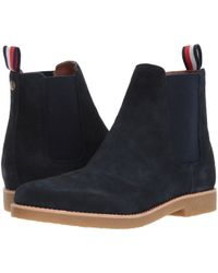 Tommy Hilfiger - Crane (navy) Men's Pull-on Boots - Lyst