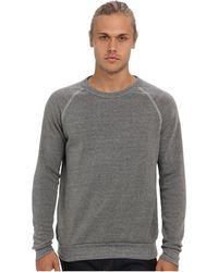 Alternative Apparel - Champ Eco Fleece Sweatshirt (eco Grey) Men's Long Sleeve Pullover - Lyst