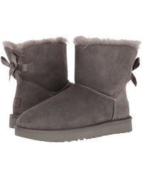 UGG - Mini Bailey Bow Ii (seal) Women's Boots - Lyst